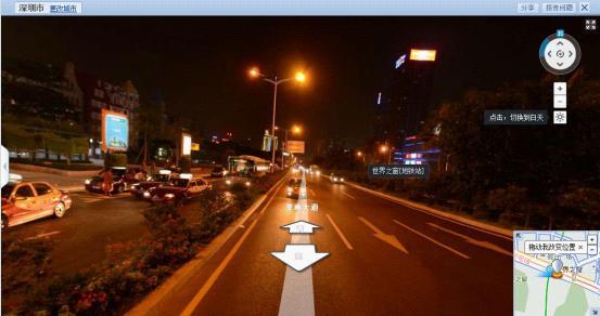 (SOSO地图街景夜间模式)-腾讯SOSO街景地图将促进地图产业革新图片